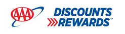 aaa rewards discount logo